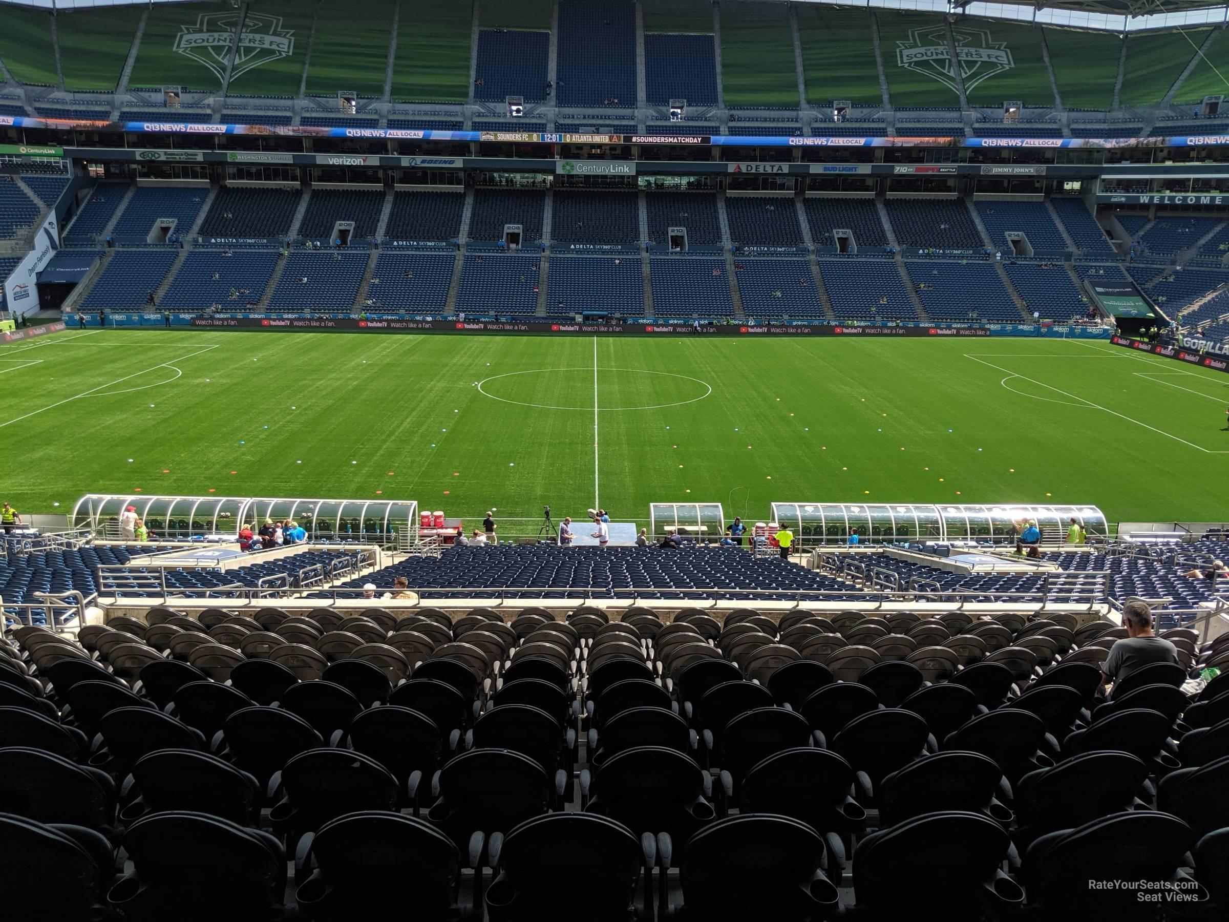 CenturyLink Field Section 235 - Seattle Sounders FC ...