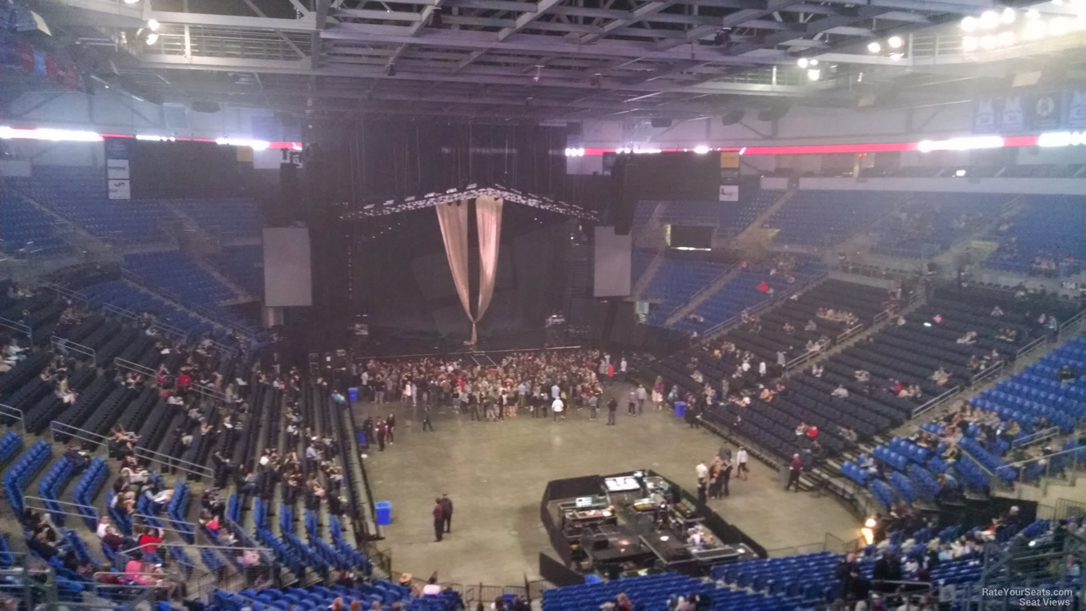 Section 210 seat view
