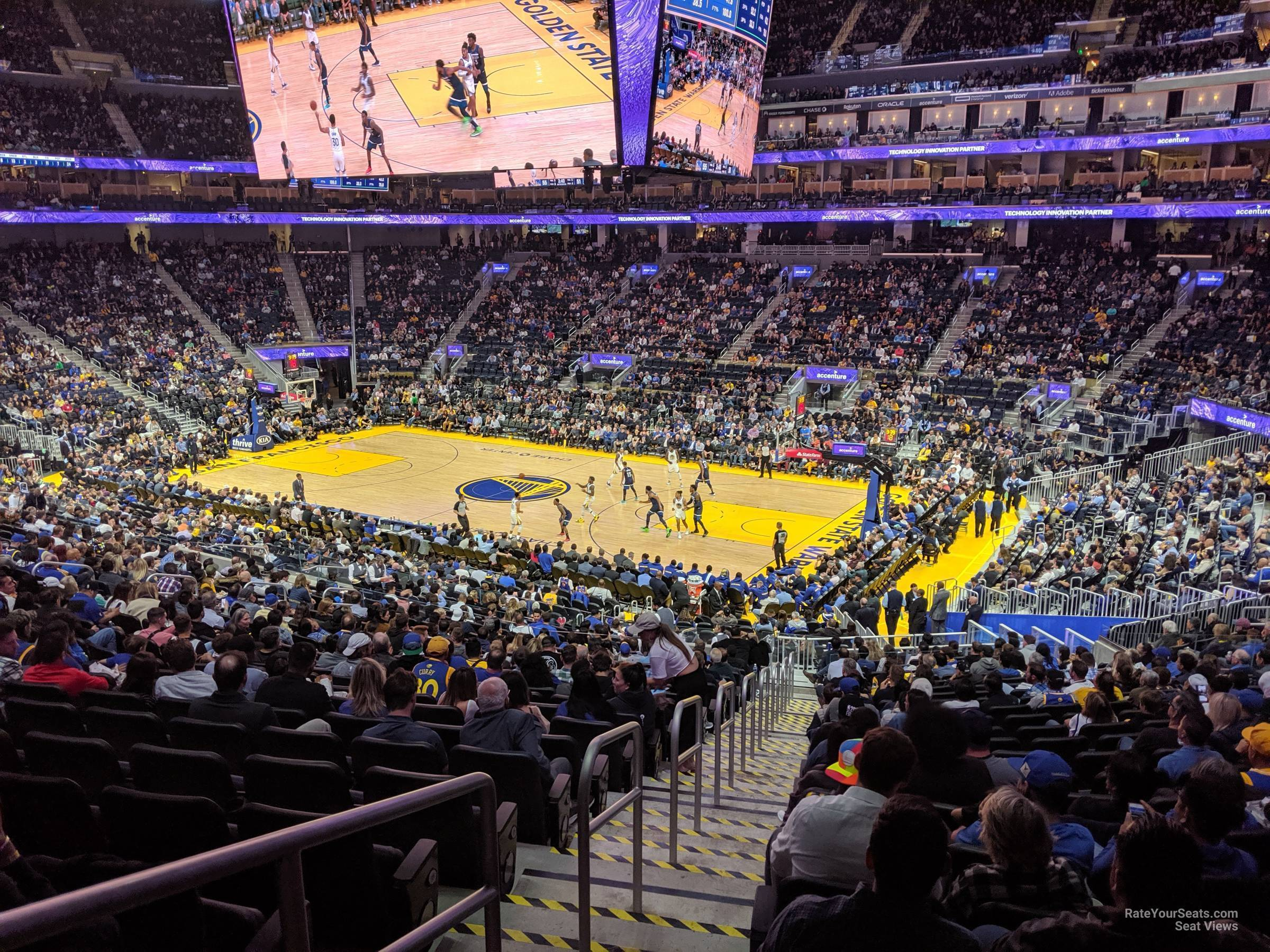 Chase Center Section 101 - Golden State Warriors ...