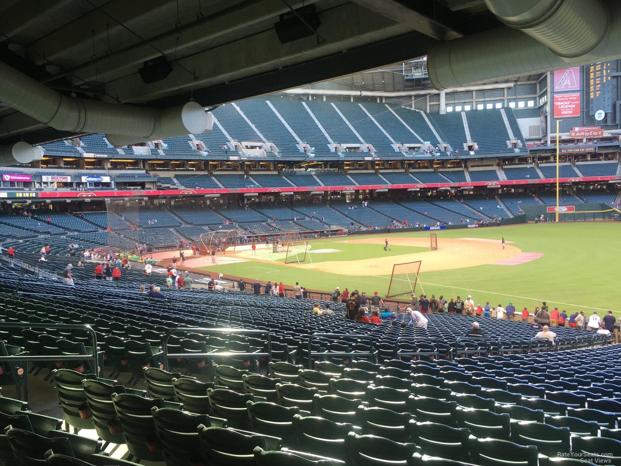 Chase Field Section 111 Arizona Diamondbacks