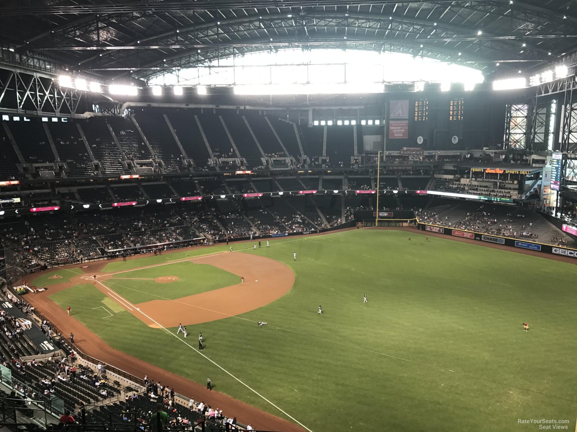 Chase Field Section 301 Arizona Diamondbacks