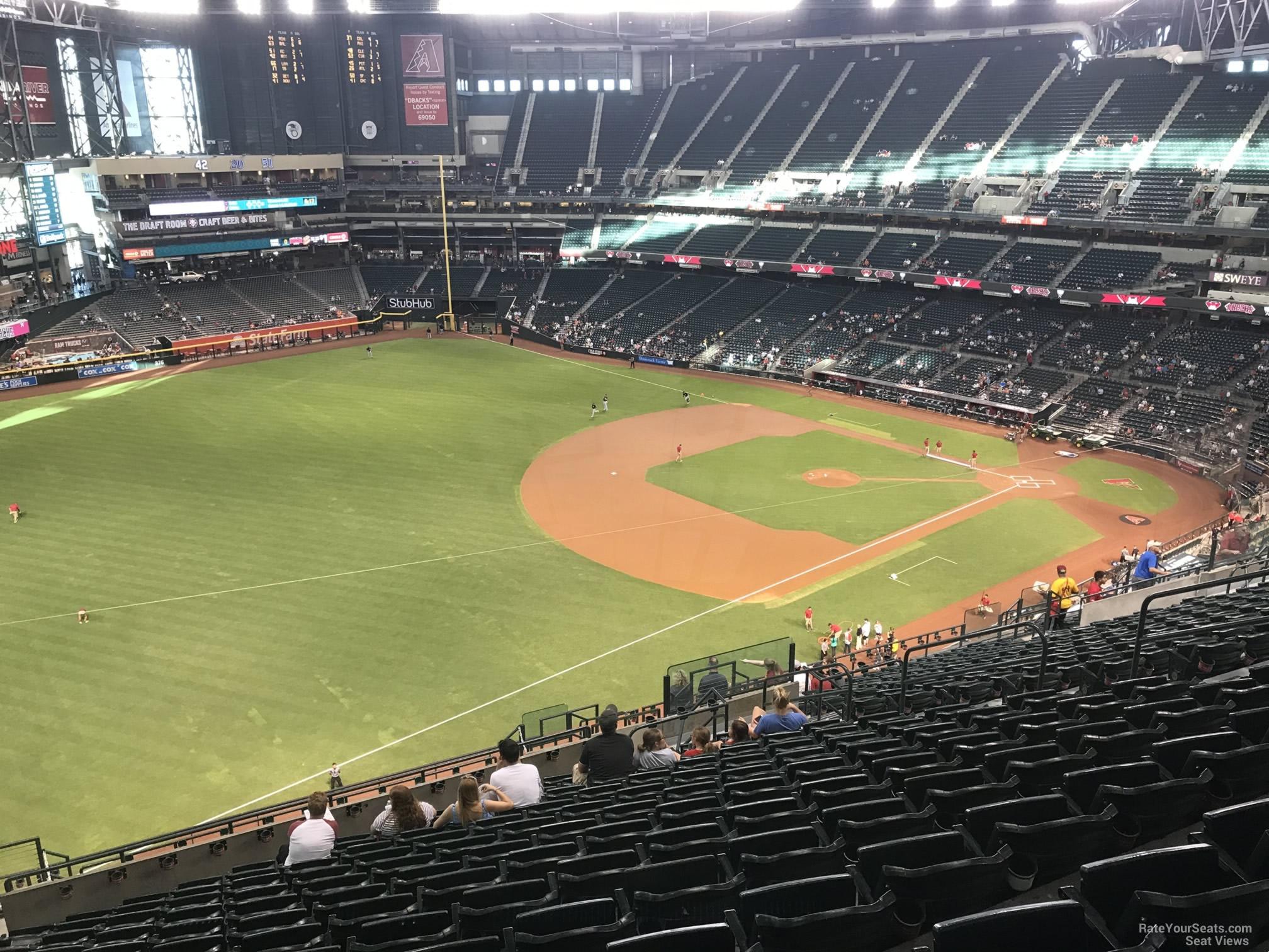Chase Field Section 328 Arizona Diamondbacks