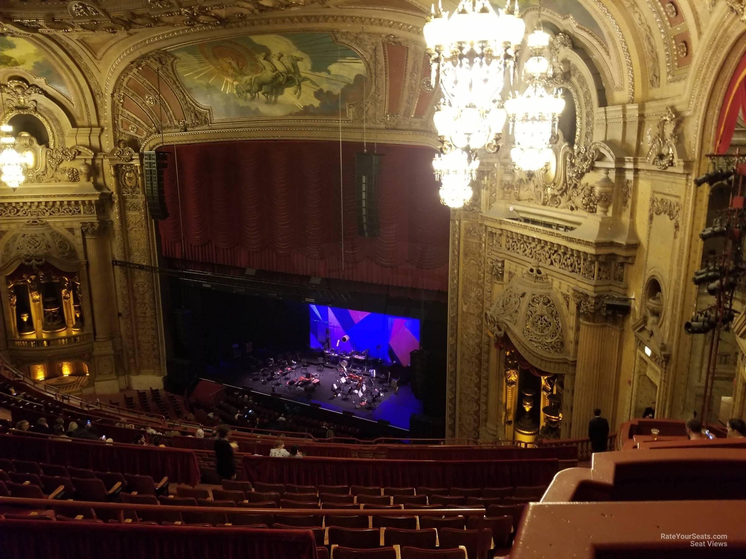 Balcony Box 17 at Chicago Theatre - RateYourSeats.com