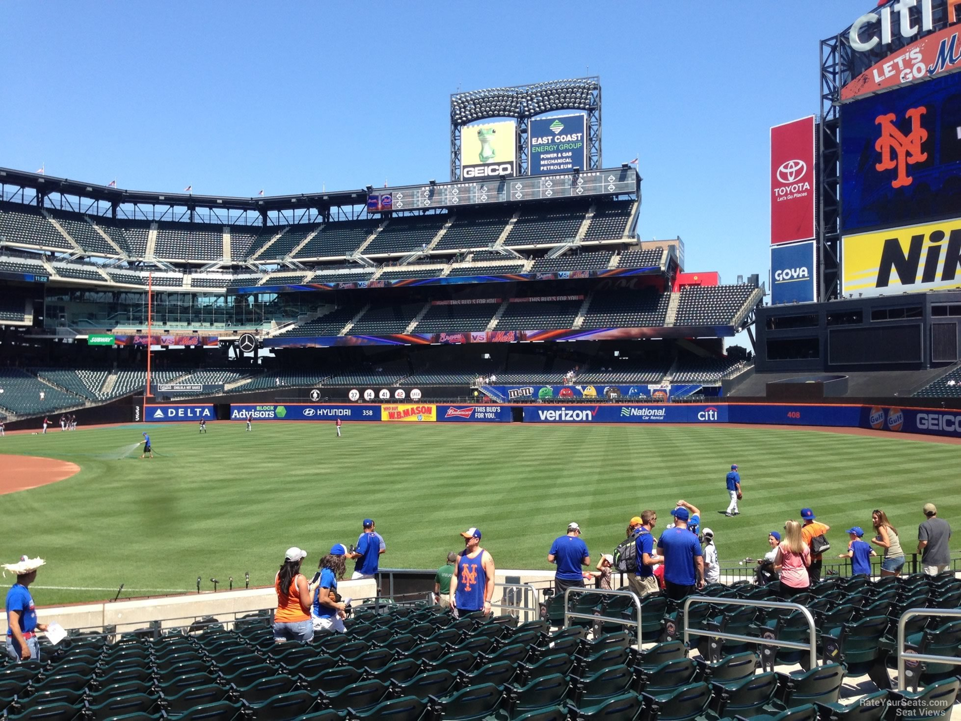 Citi Field Section 109 - RateYourSeats.com on