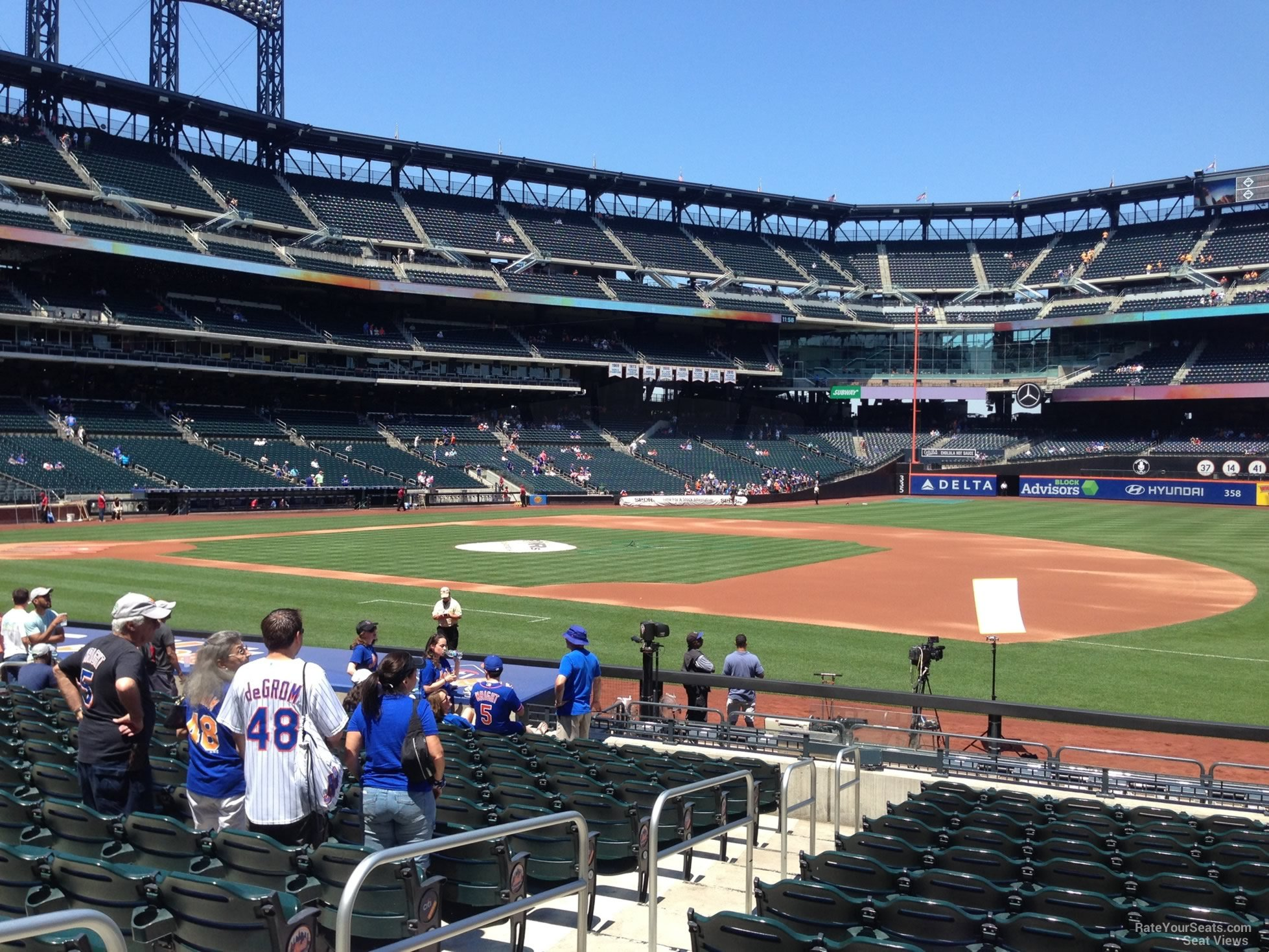 Citi Field Section 111 - RateYourSeats.com