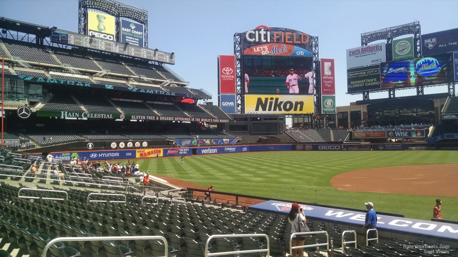 Citi Field Section 122 - RateYourSeats.com on