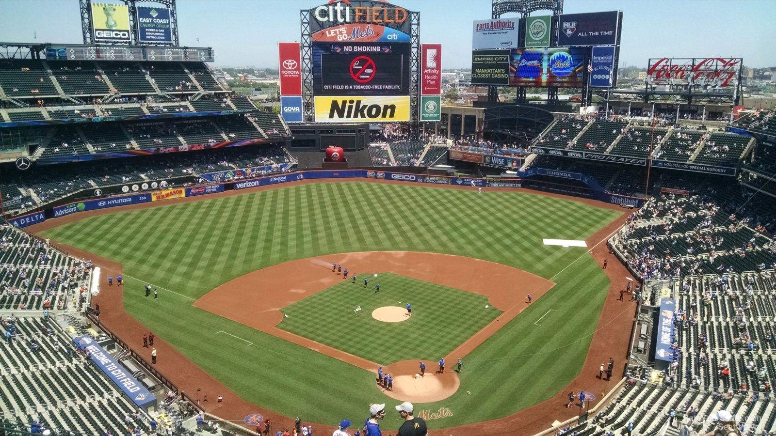 Citi Field Excelsior Level Infield - Baseball Seating ...