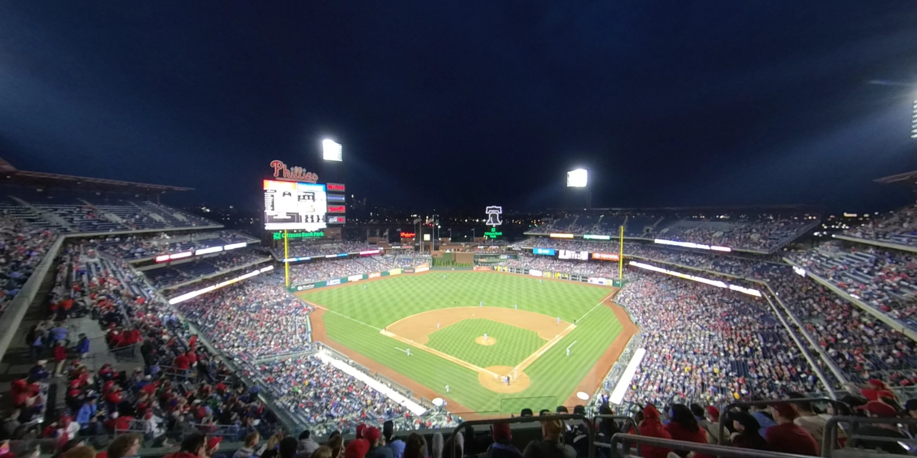 Section 422 at Citizens Bank Park - Philadelphia Phillies ...