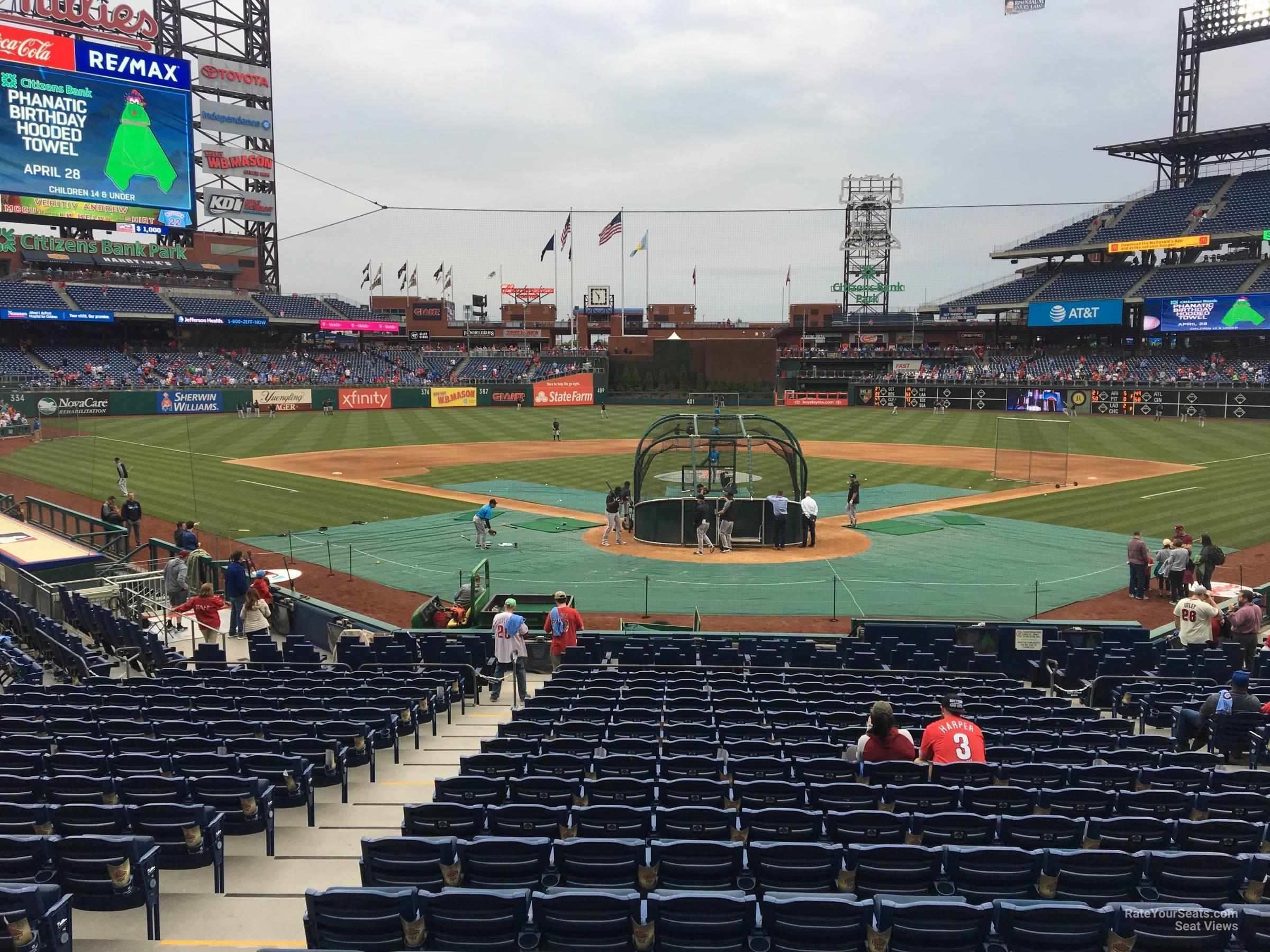 Citizens Bank Park Section D Philadelphia Phillies