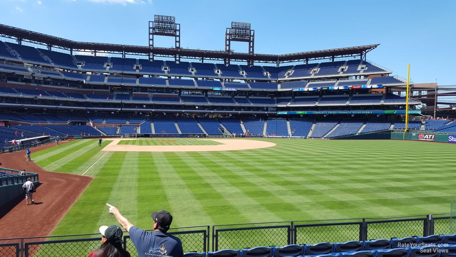 Citizens Bank Park Section 106 Philadelphia Phillies