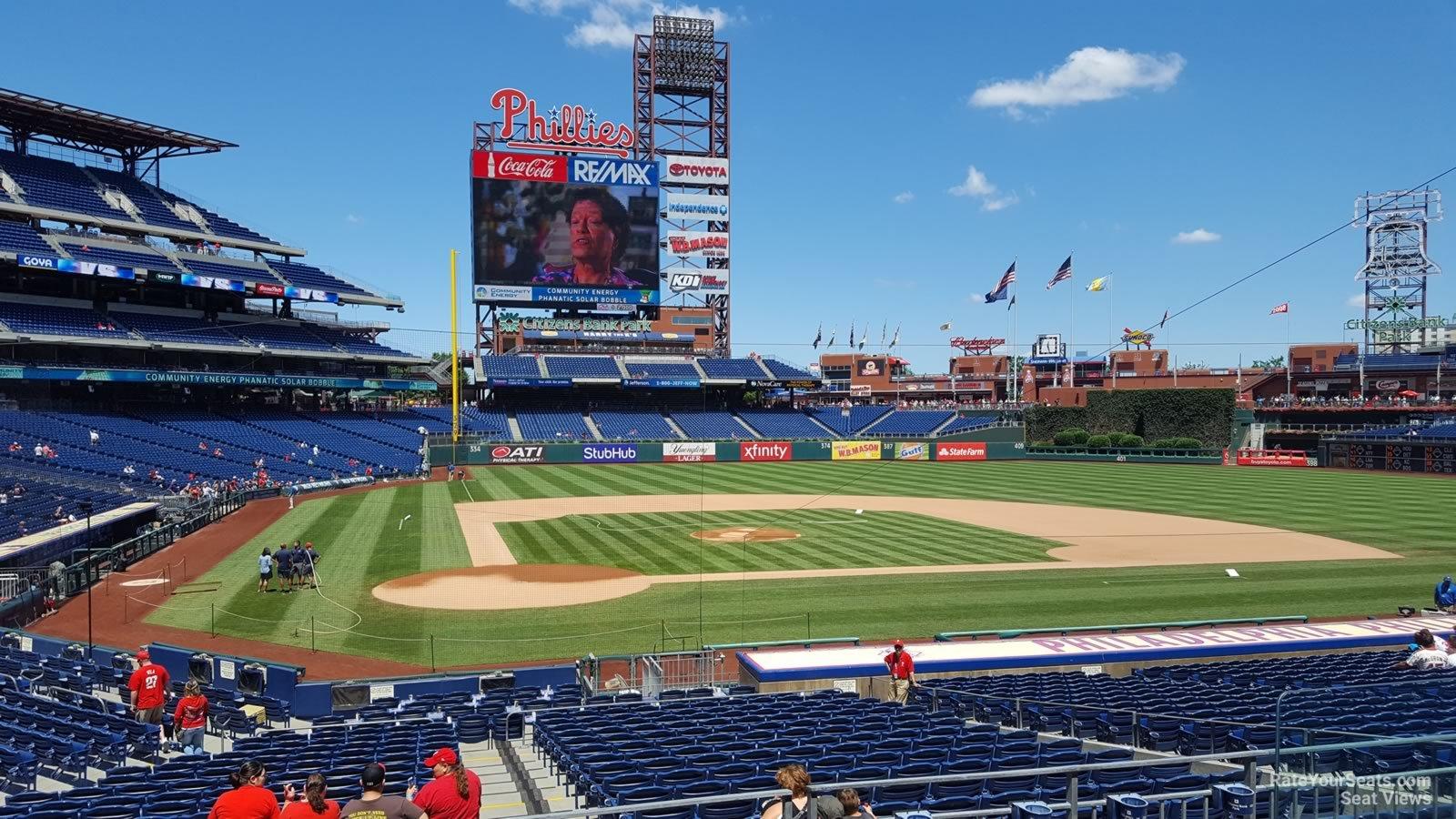 Citizens Bank Park Section 120 Philadelphia Phillies