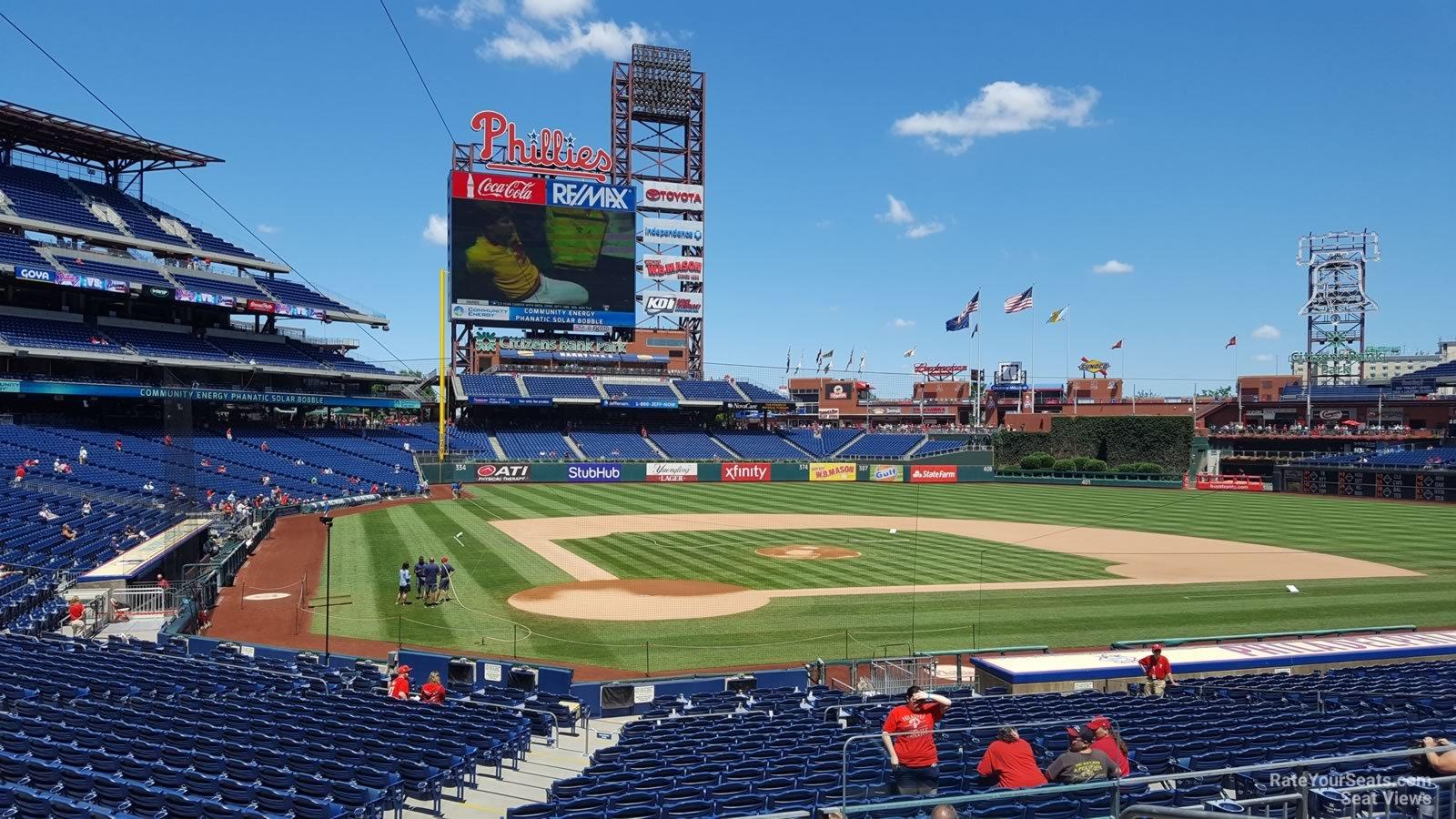 Citizens Bank Park Section 121 Philadelphia Phillies