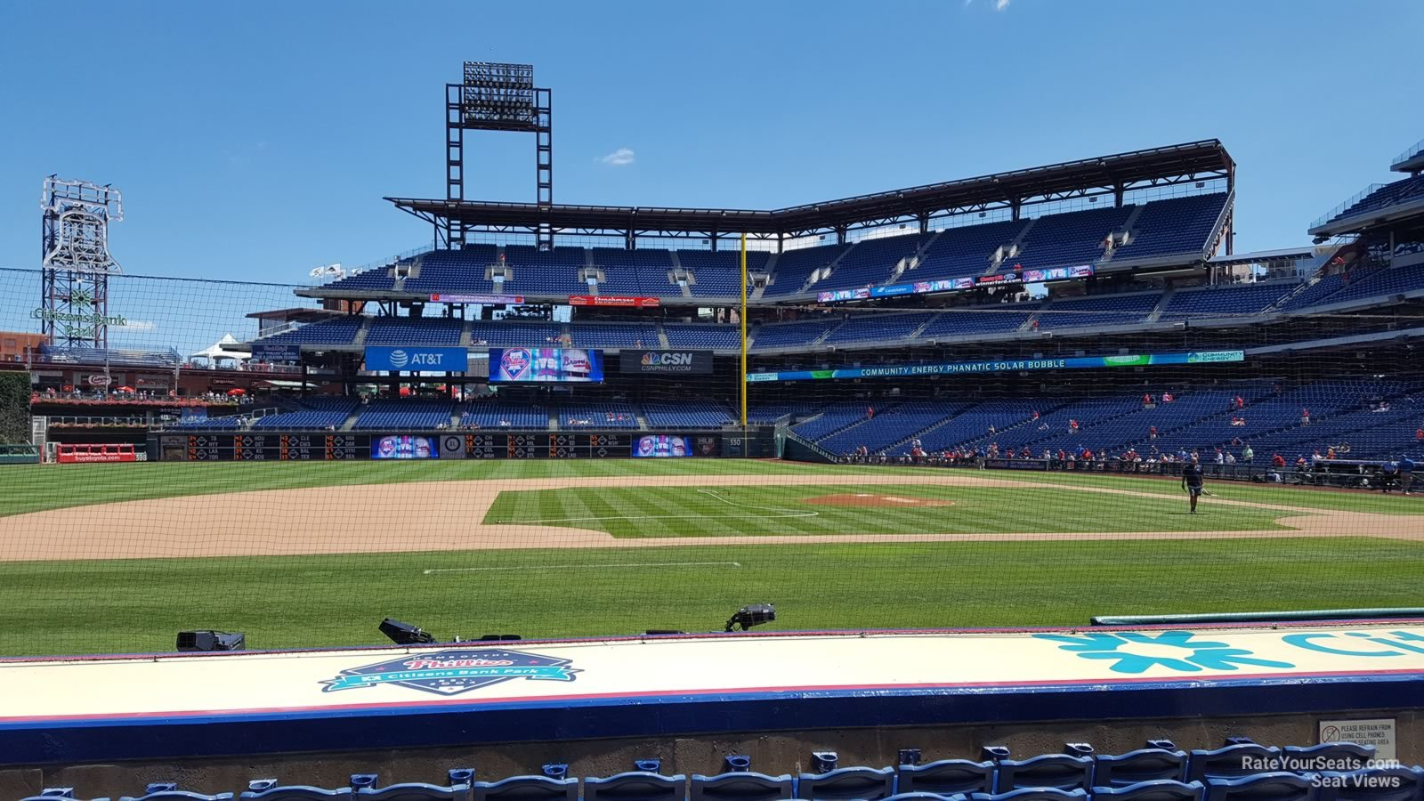 Seat View For Citizens Bank Park Section 131 Row 7