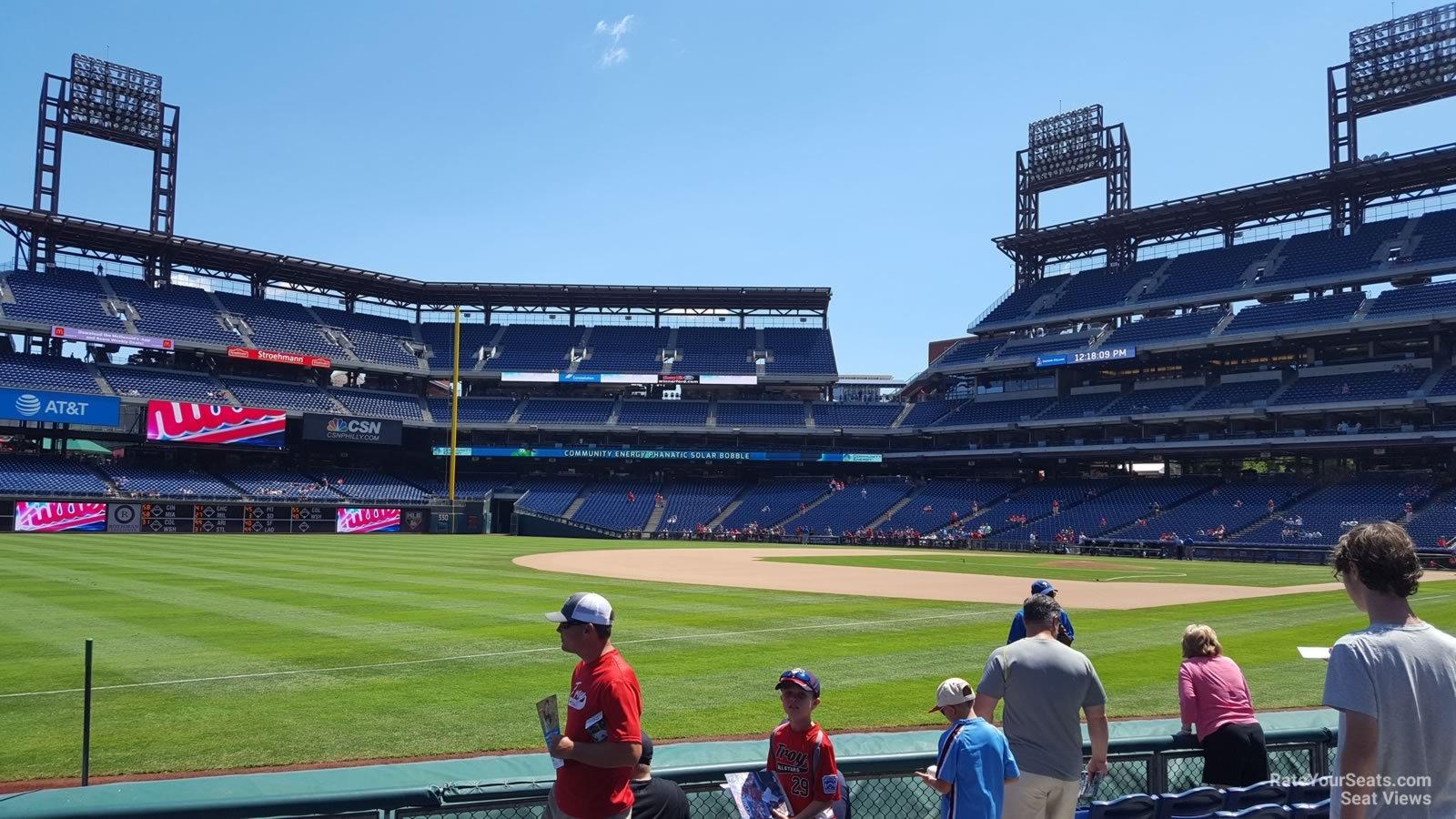 Citizens Bank Park Section 136 Philadelphia Phillies