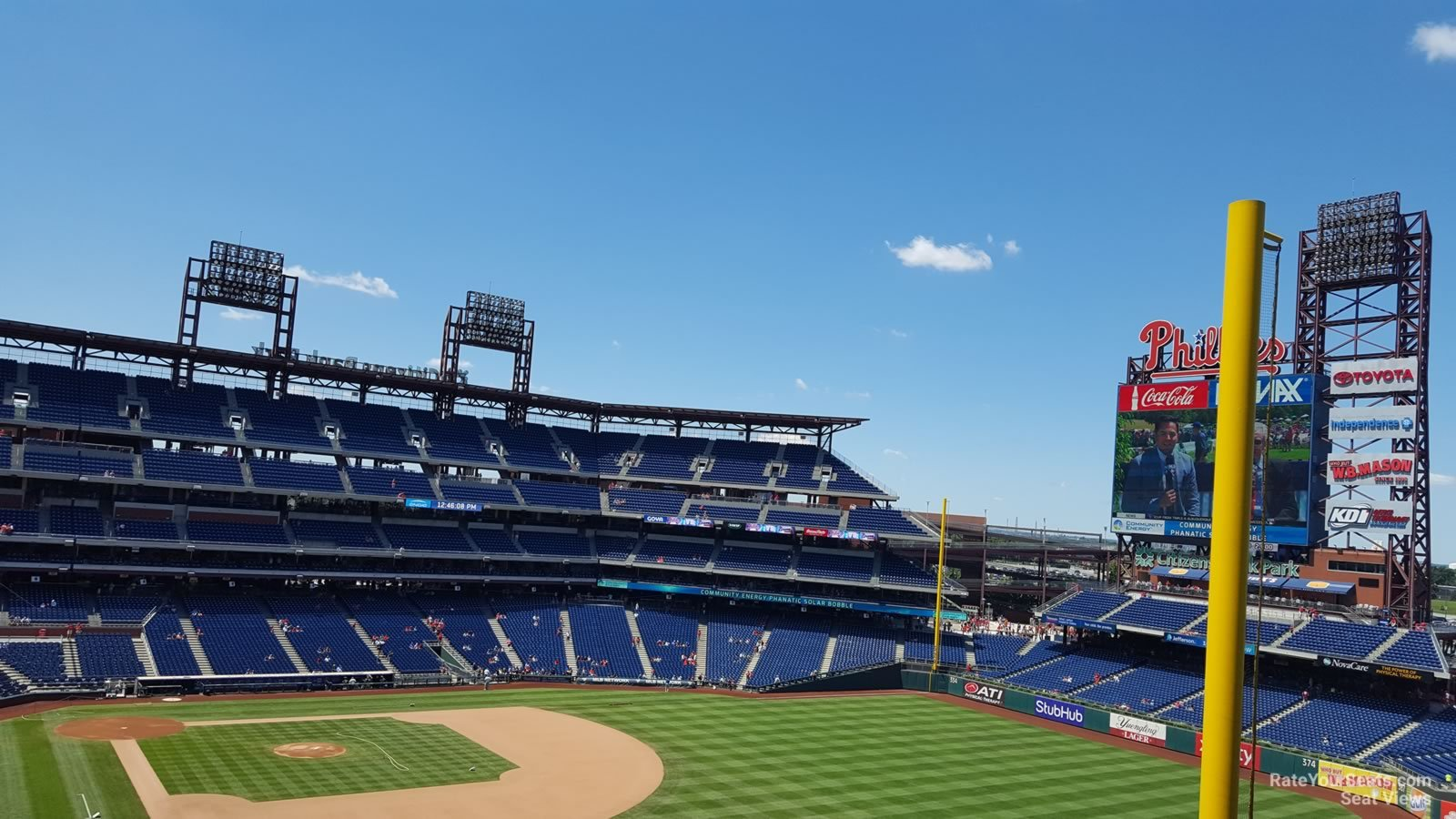 Citizens Bank Park Section 307 Philadelphia Phillies