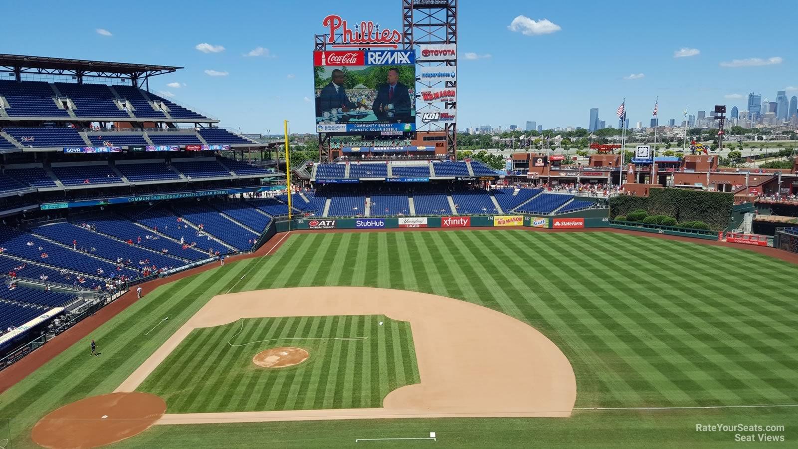 Citizens Bank Park Section 315 Philadelphia Phillies