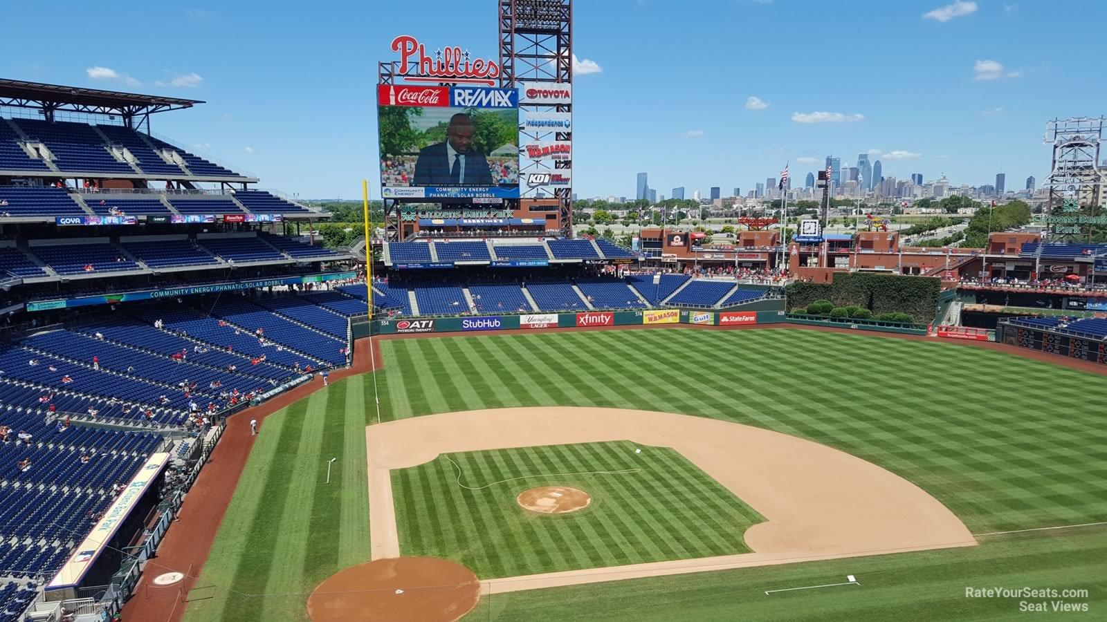 Citizens Bank Park Section 317 Philadelphia Phillies
