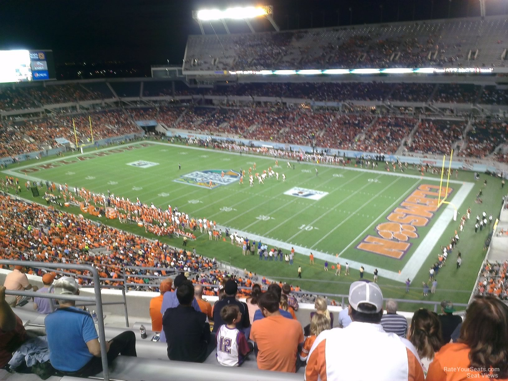 Camping World Stadium Section 202 - RateYourSeats.com on