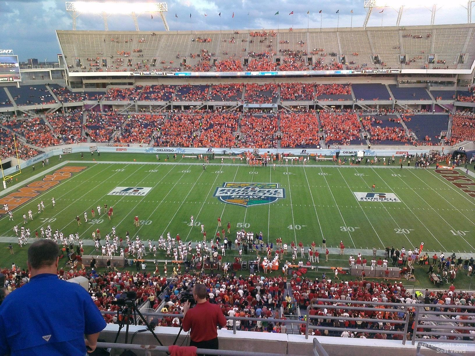Orlando Citrus Bowl Seating Chart With Rows Brokeasshome Com