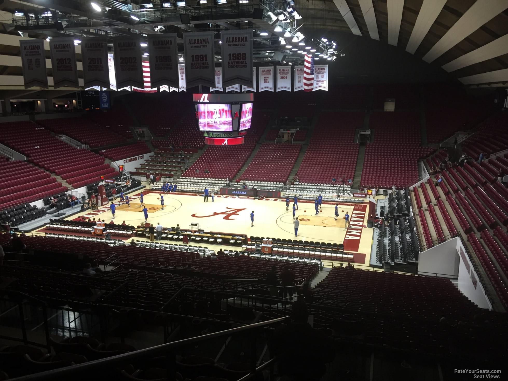 Coleman Coliseum Section B Rateyourseats Com