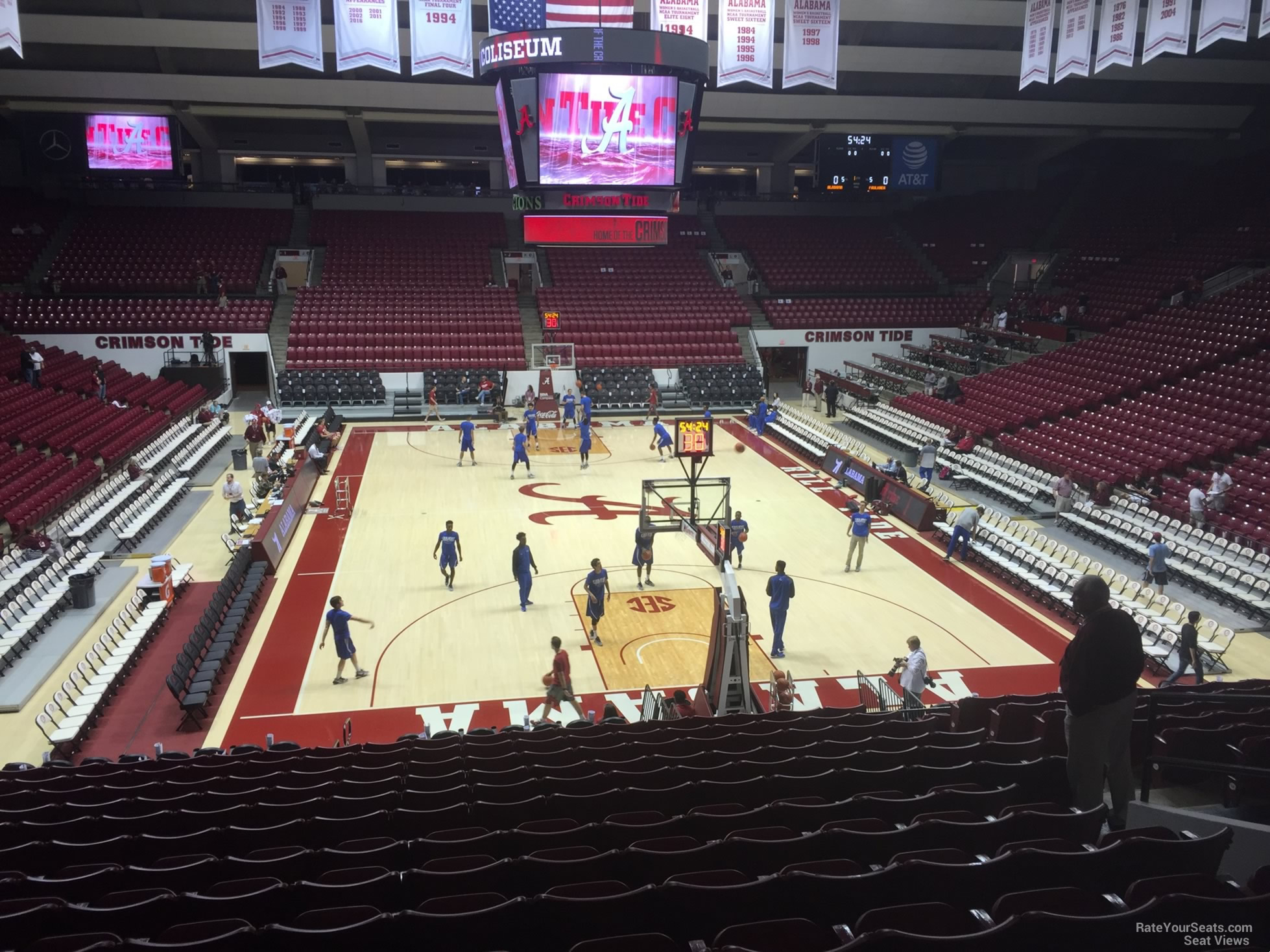 Coleman Coliseum Seating Alabama Crimson Tide Tickets