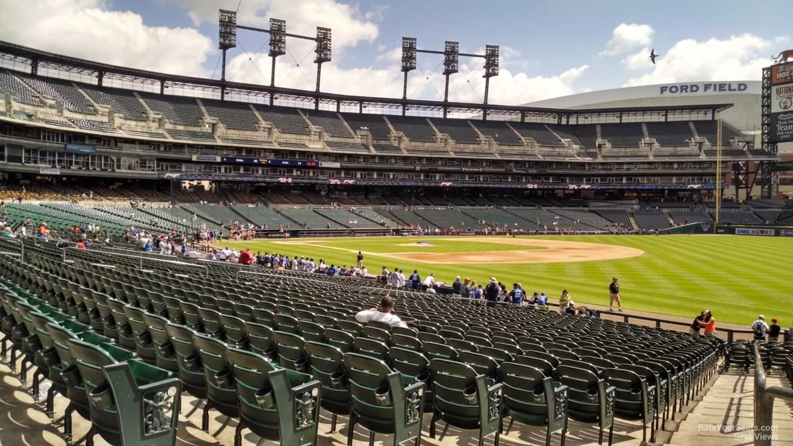 Comerica Park Section 115 Detroit Tigers Rateyourseatscom
