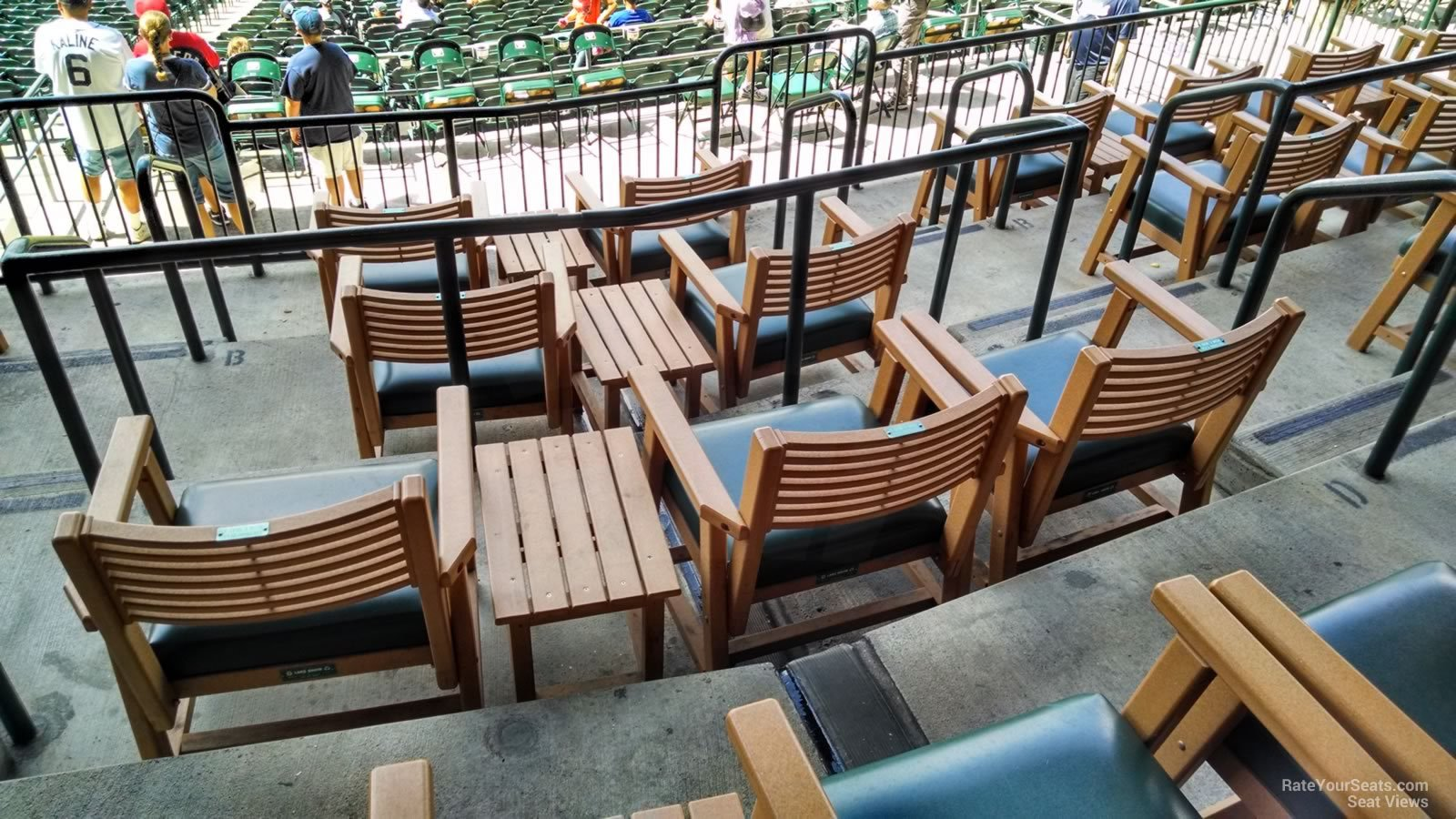 Premium Seating in the Tigers Den at Comerica Park