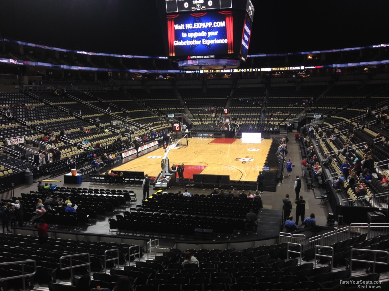 Section 117 seat view