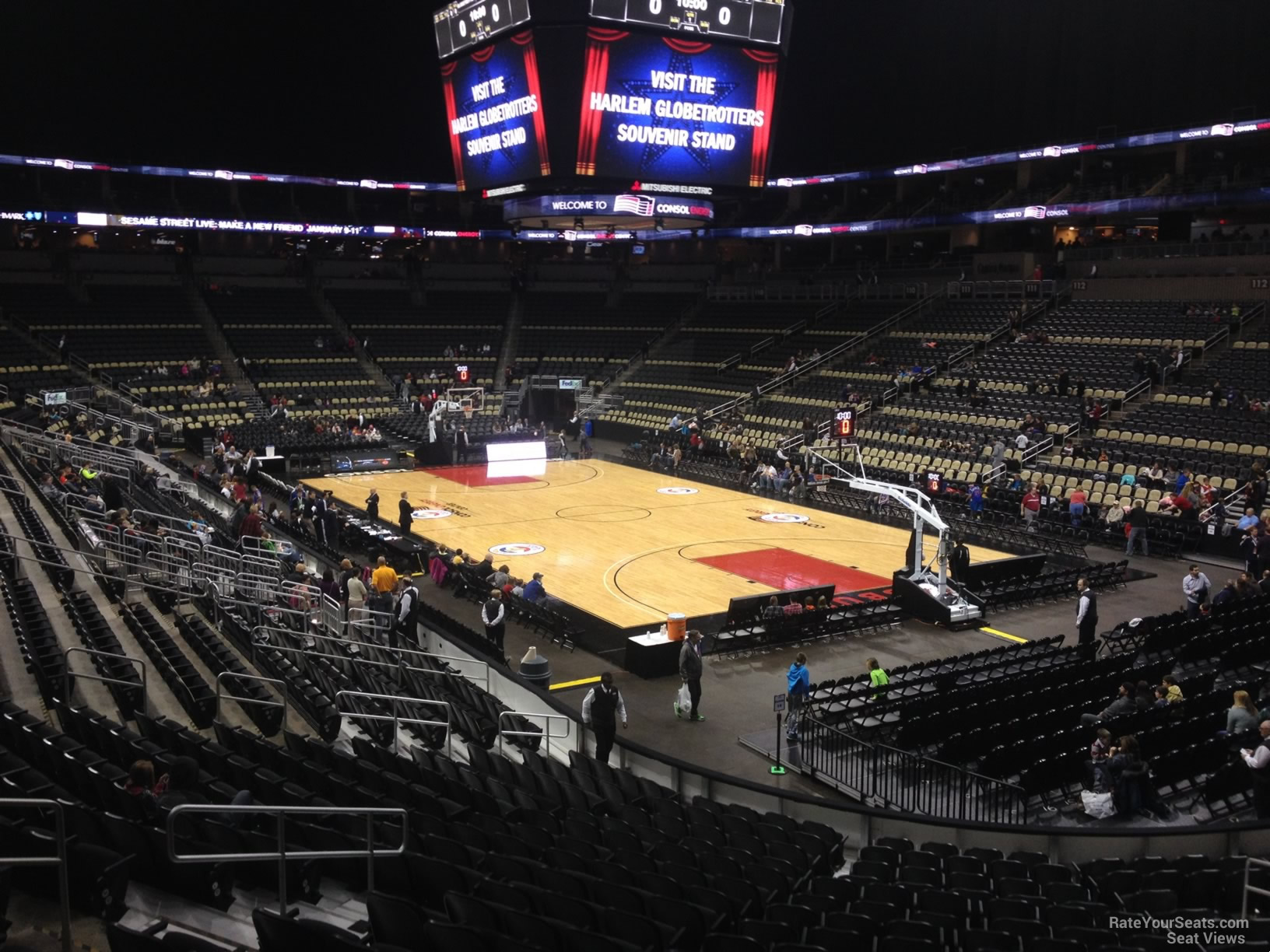 Section 120 seat view