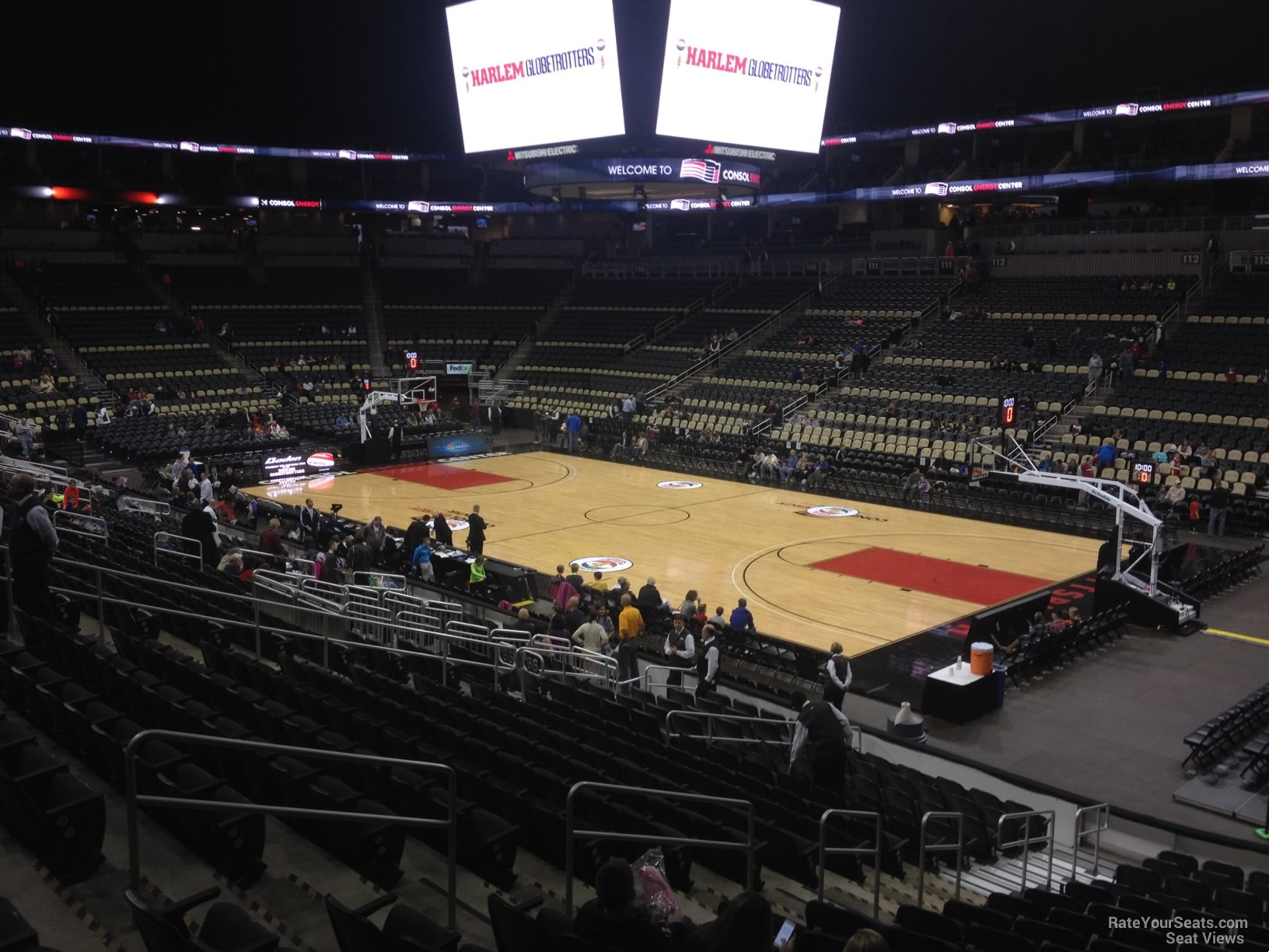 Section 121 seat view