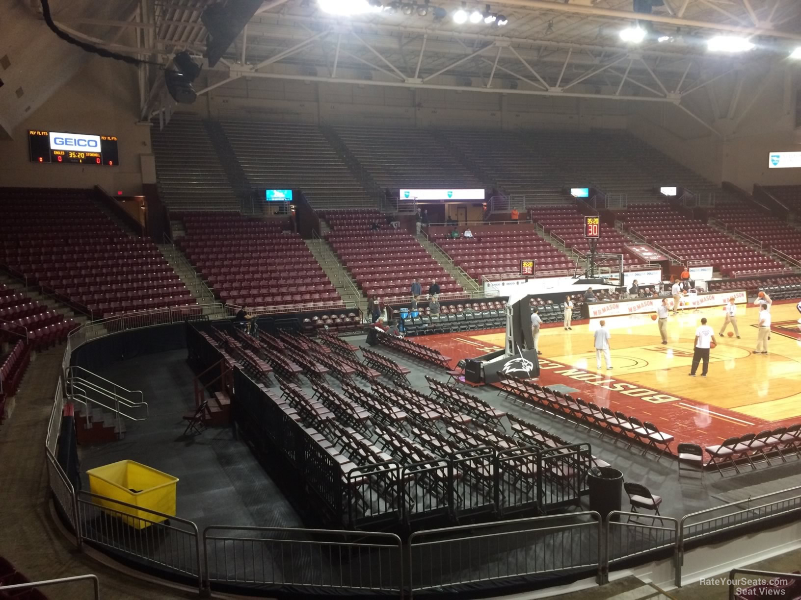 Seat View for Conte Forum Section D
