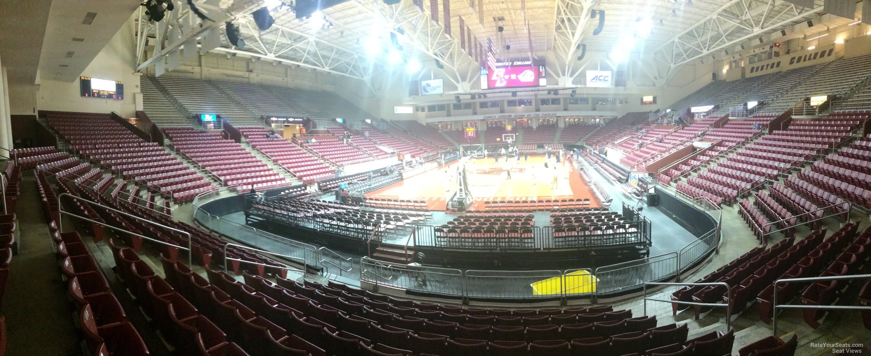 Seat View for Conte Forum Section F