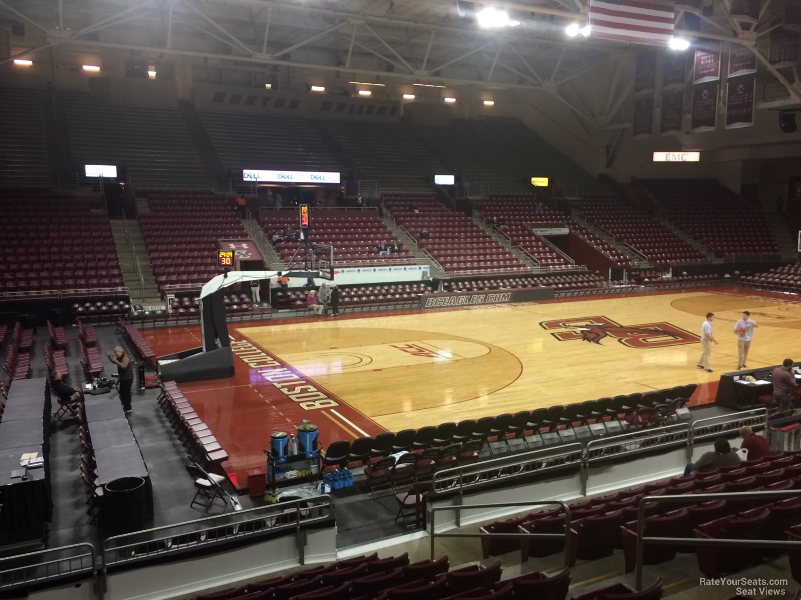 Conte-Forum-Section-O-Row-10-on-11-3-2016f Conte Forum Seating Chart
