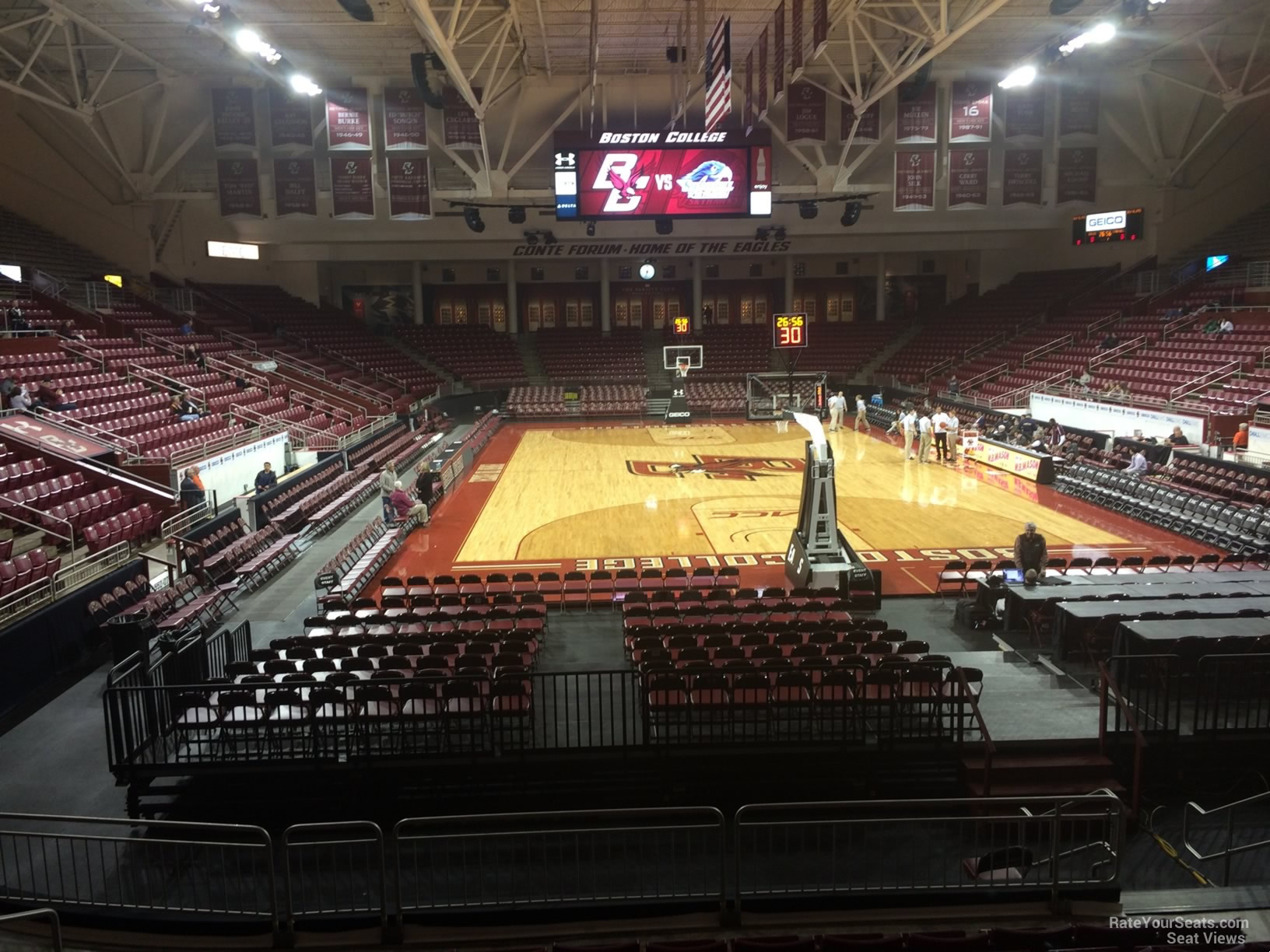 Conte Forum Section S