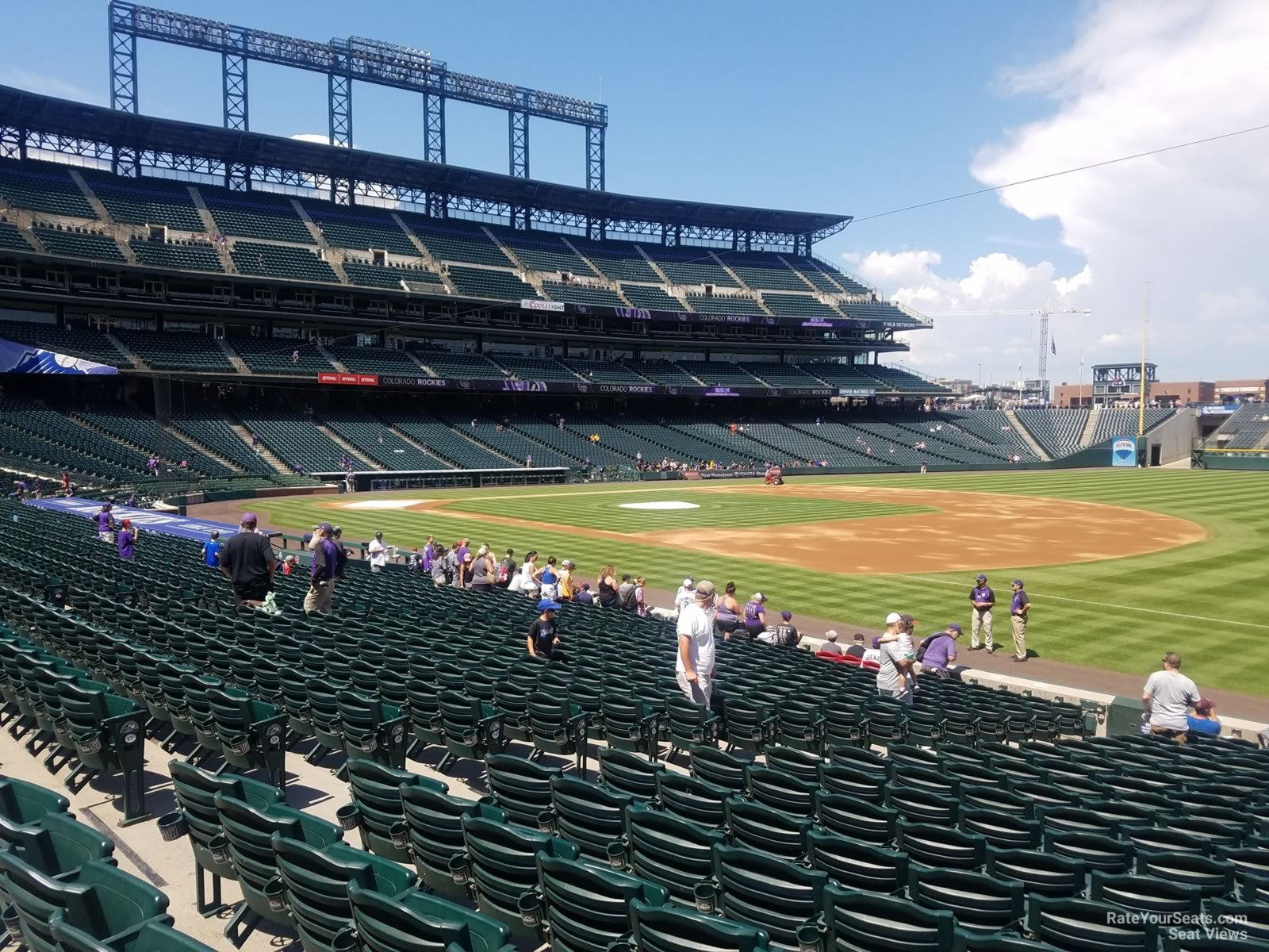 Coors Field Section 118 - RateYourSeats.com