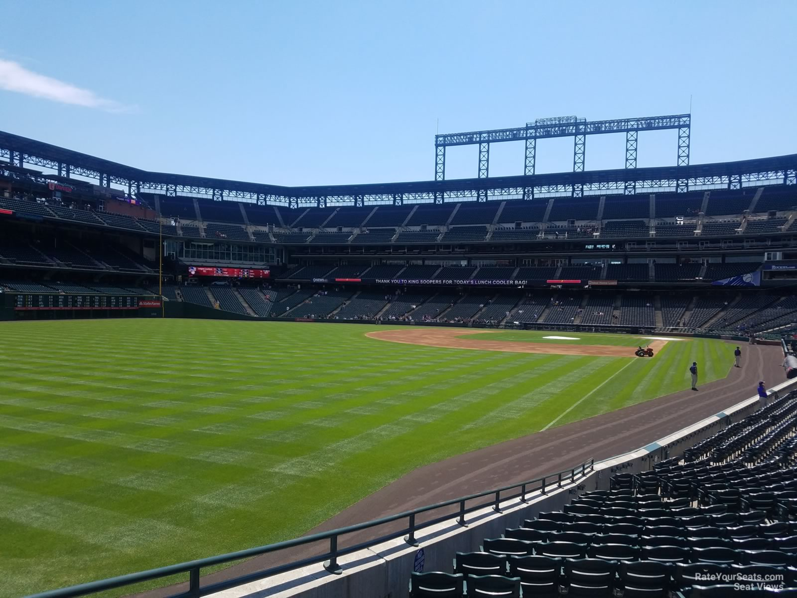 Coors Field Section 150 - RateYourSeats.com