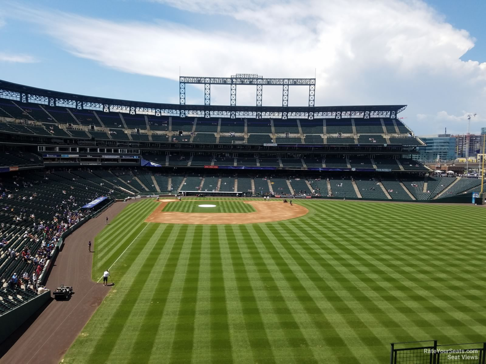 Seat View For Coors Field Section 207