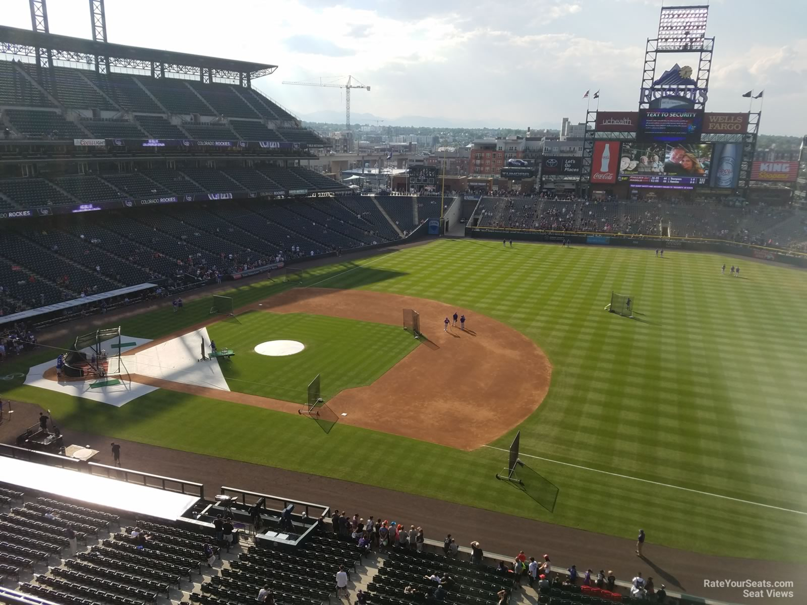 Coors Field Section 319 - RateYourSeats.com