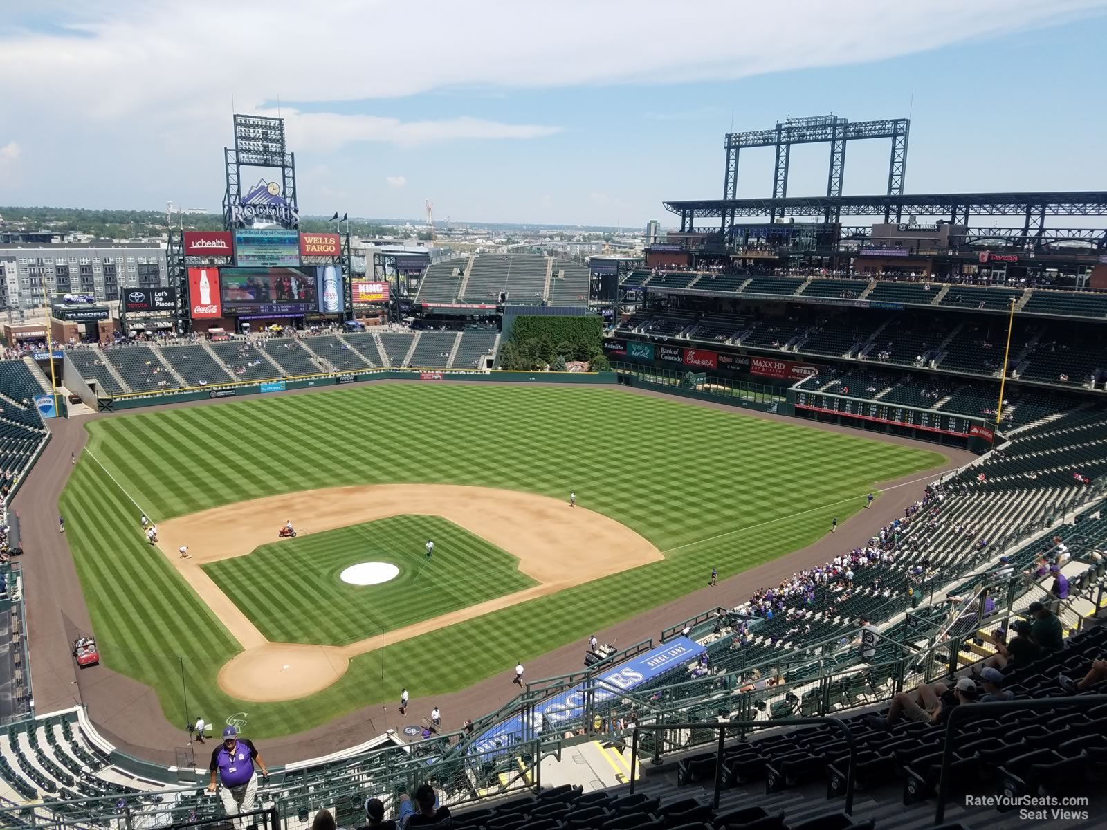 coors field section 328 rateyourseats com