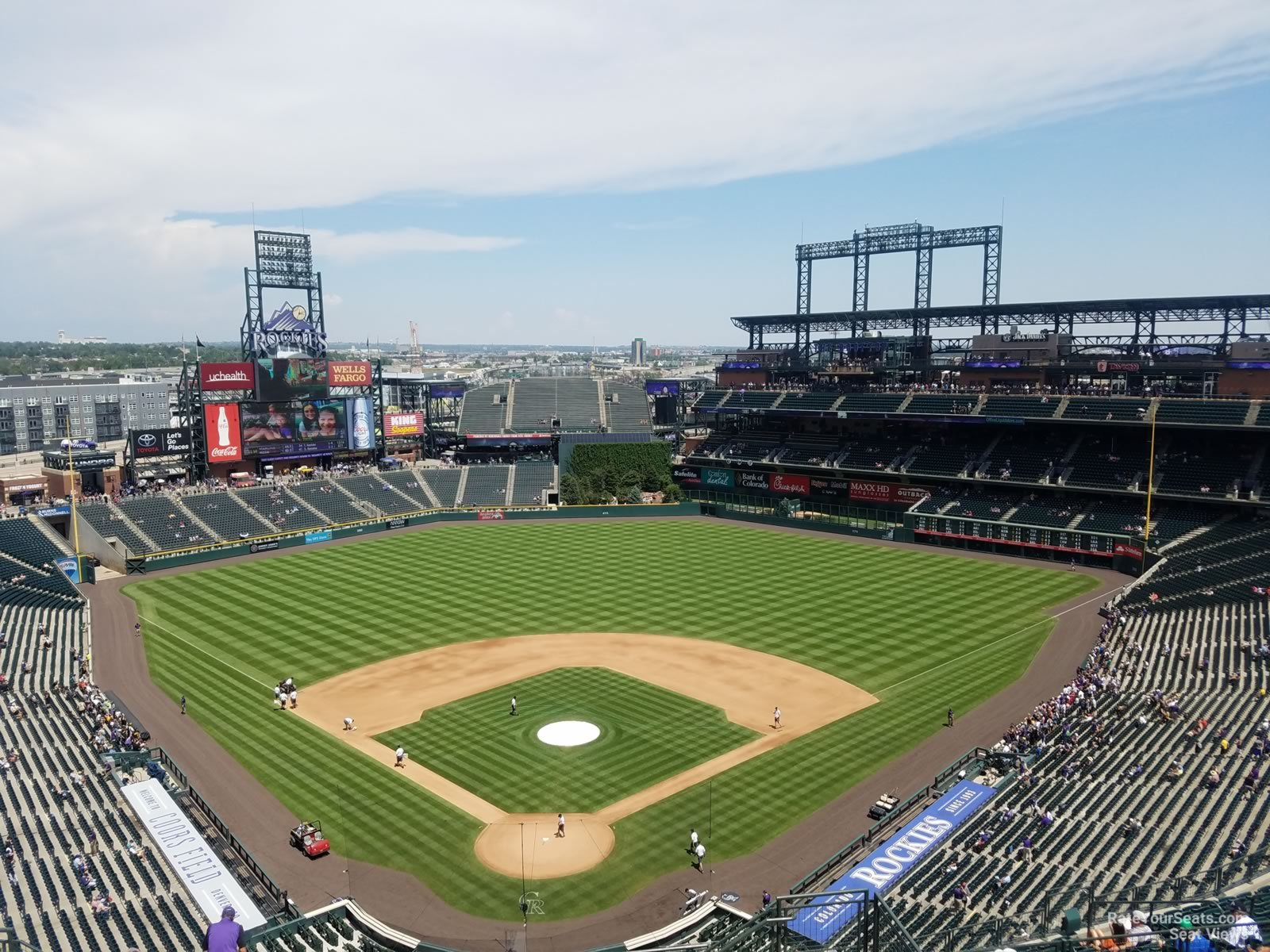 Coors Field Section 330 - RateYourSeats.com