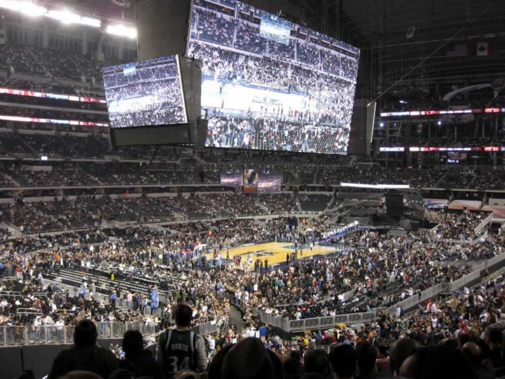 Basketball Seat View for AT&T Stadium Section 242