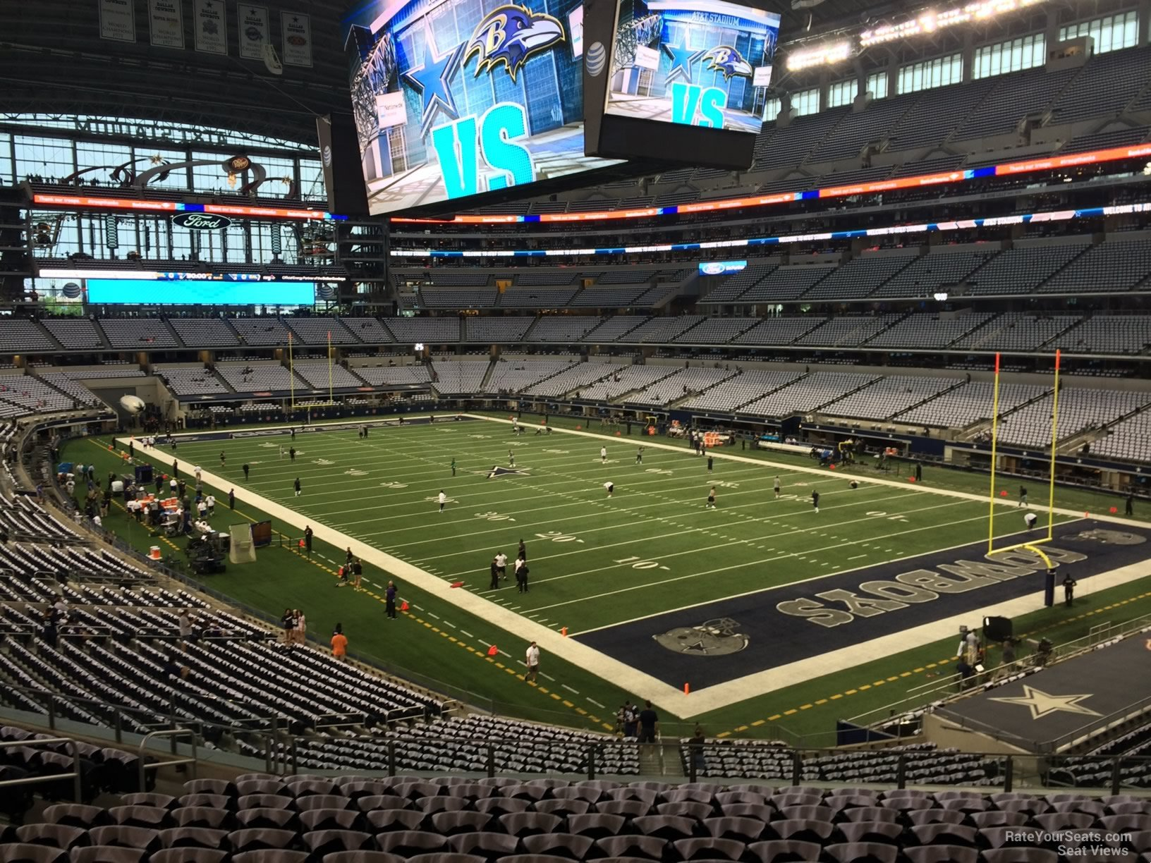 At Amp T Stadium Section 226 Dallas Cowboys Rateyourseats Com