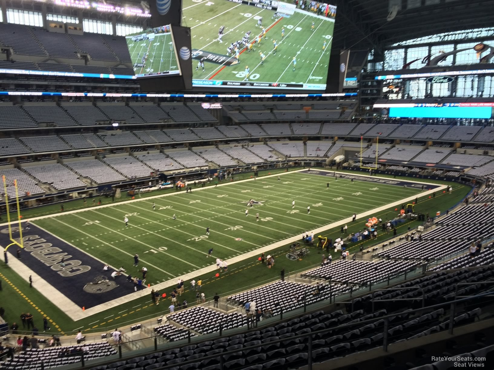 Dallas Cowboys Seat View for AT&T Stadium Section 317, ...
