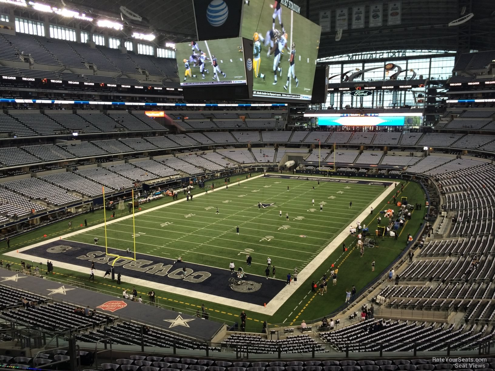 Dallas Cowboys Seat View for AT&T Stadium Section 319, ...