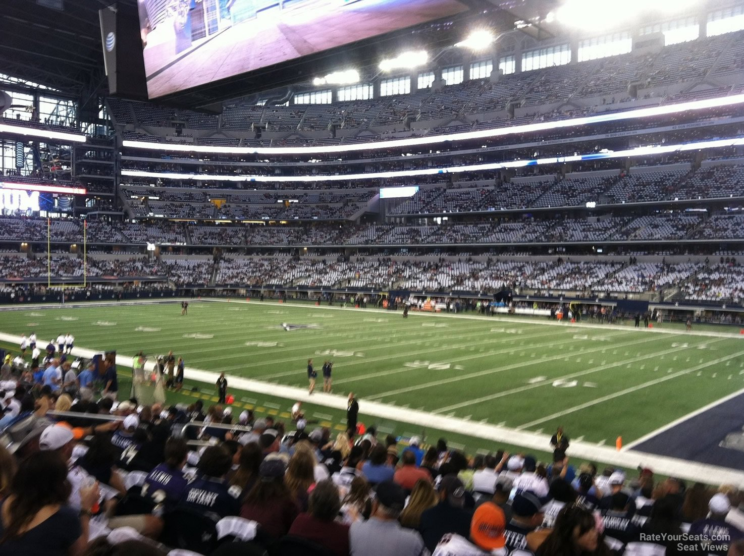 At Amp T Stadium Section 128 Dallas Cowboys Rateyourseats Com