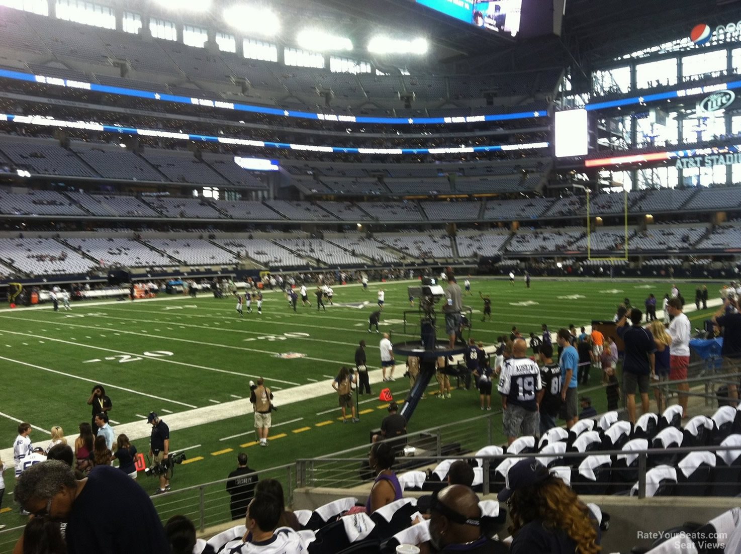 At Amp T Stadium Section 142 Dallas Cowboys Rateyourseats Com