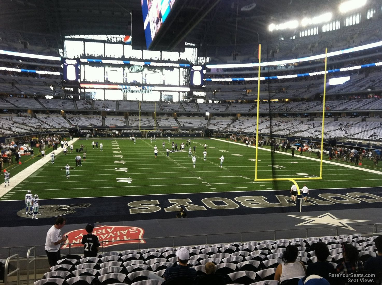 Dallas Cowboys Seat View for AT&T Stadium Section 149, ...