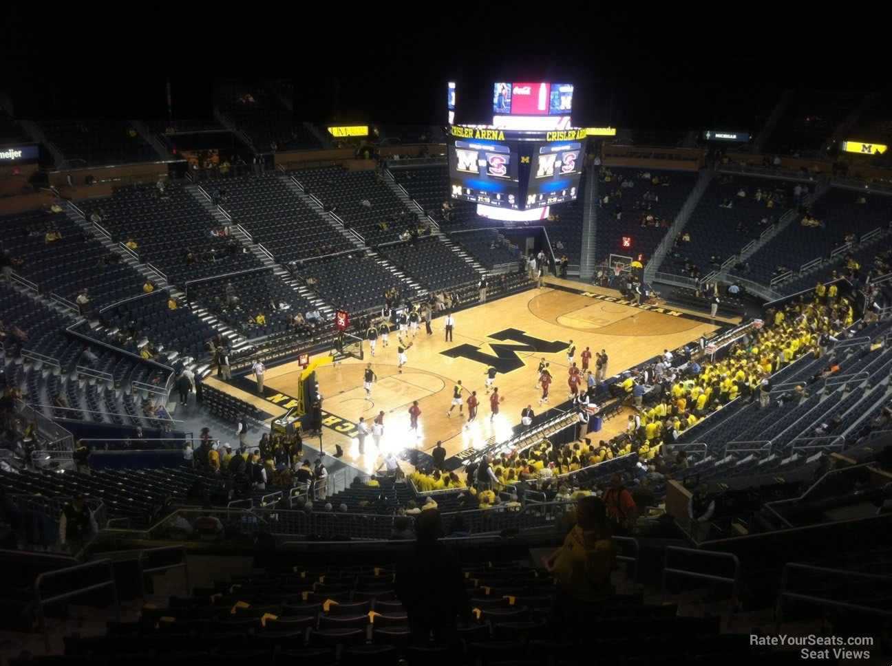 Seat View for Crisler Center Section 228, Row 38