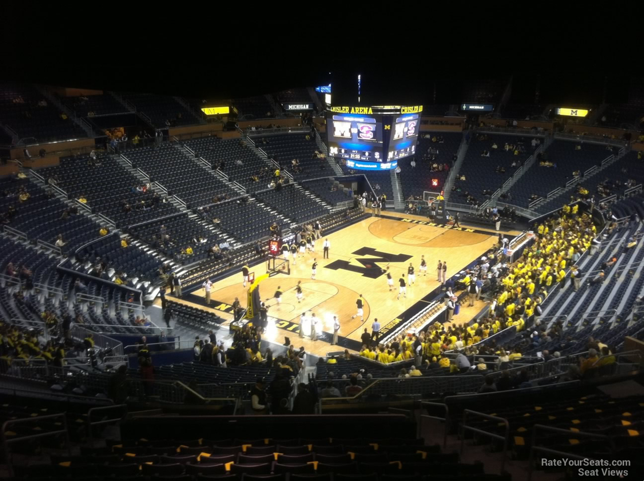 Seat View for Crisler Center Section 229, Row 38