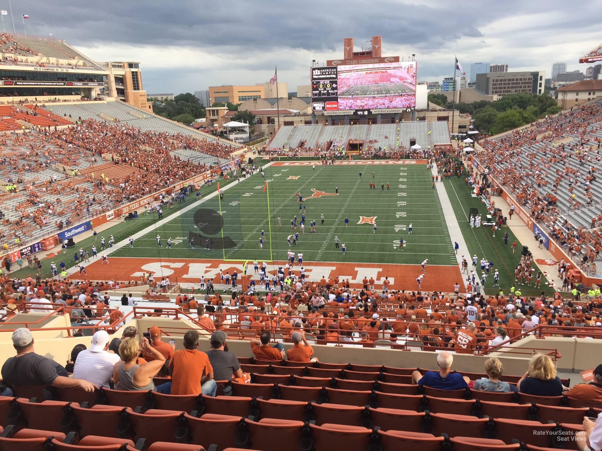 Touchdown Club 15 seat view